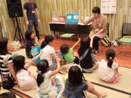 2014年外国の絵本の読み聞かせとその国の遊び、韓国
