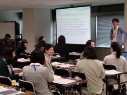 市役所新人研修での多文化共生講座